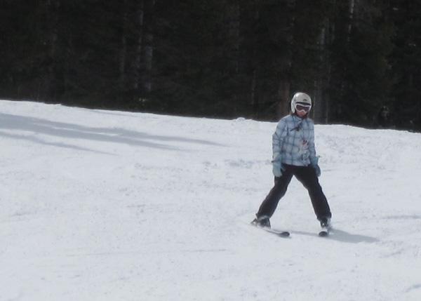 #1 skiing