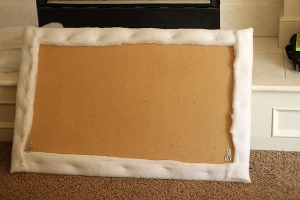 Upholstered headboard 6