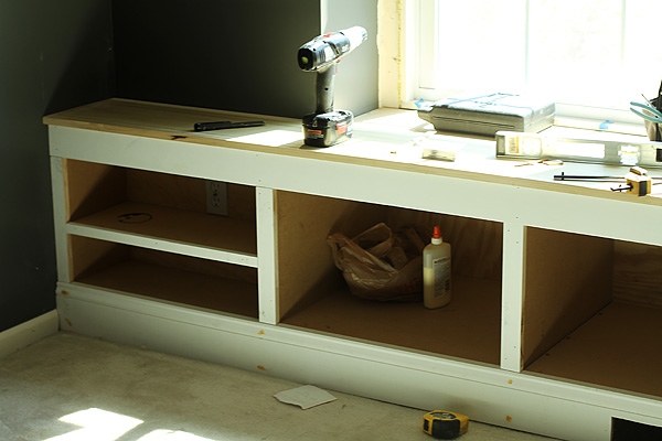 Bench with Trim