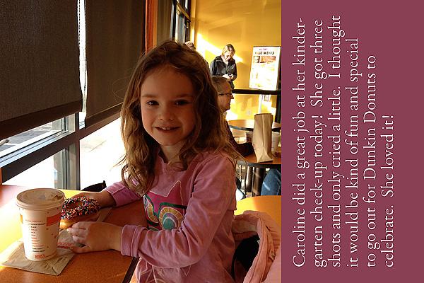 #3 kindergarten checkup