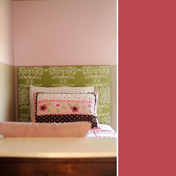 Twin Bed with Headboard