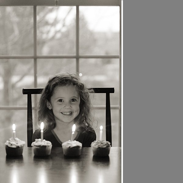#4 birthday candles