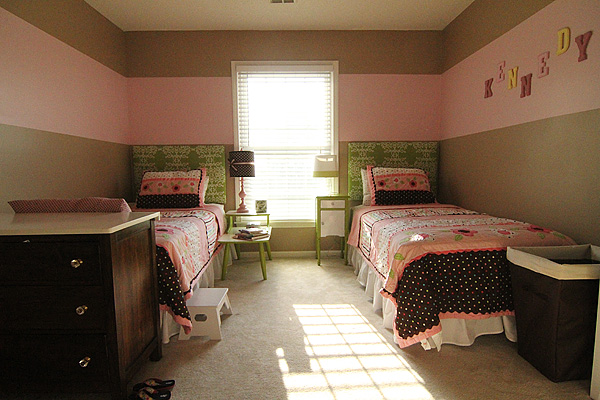 Little Girls Room Before Dresser