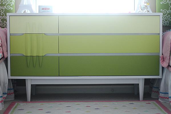Mid Century Ombre Dresser Final