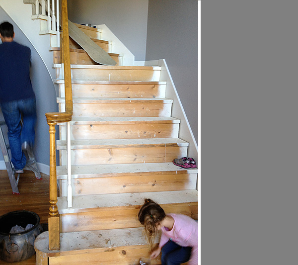 Before stairs