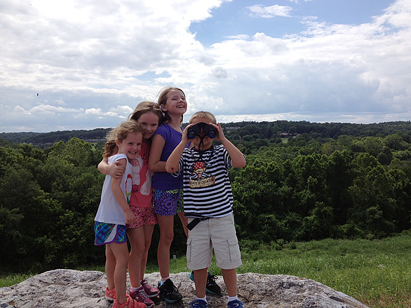 Cousins Hiking