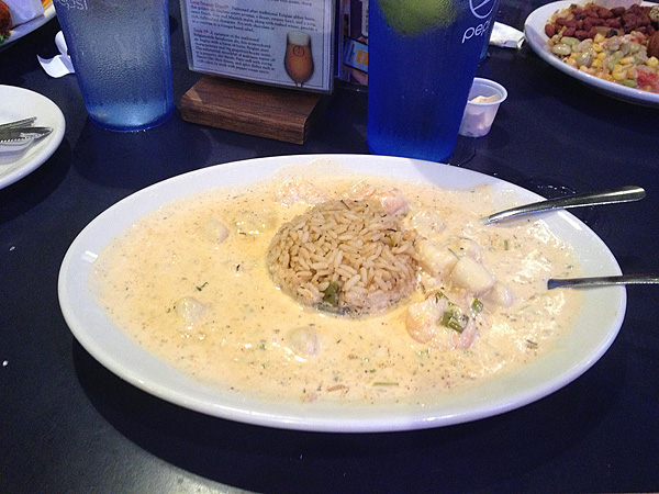 Jazz restaurant shrimp and scallops ponchatrain