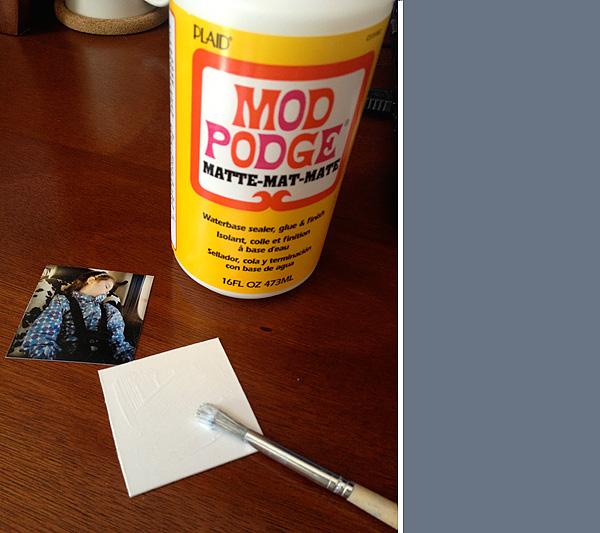 how to make modge podge slime