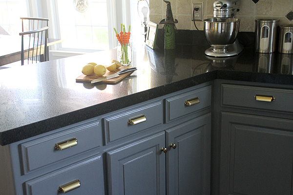 Thrifty Thursday...Painted Kitchen Cabinets - Suzanne ...