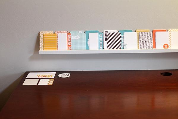 Scrapbook Shelf 2