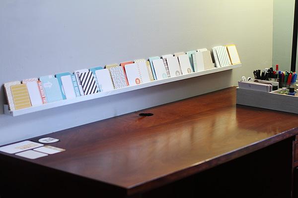 Scrapbook Shelf 1