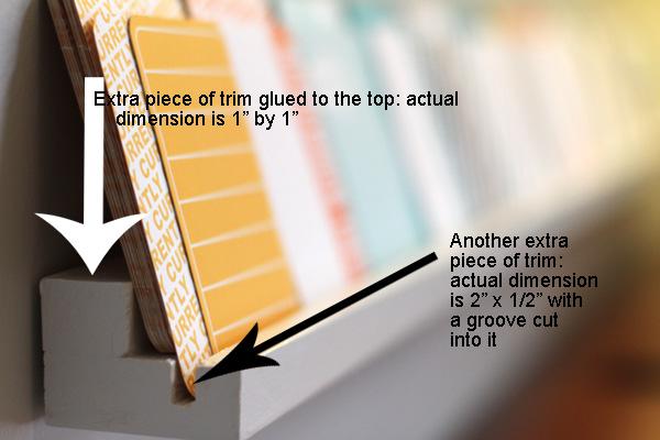 Scrapbook Shelf 6