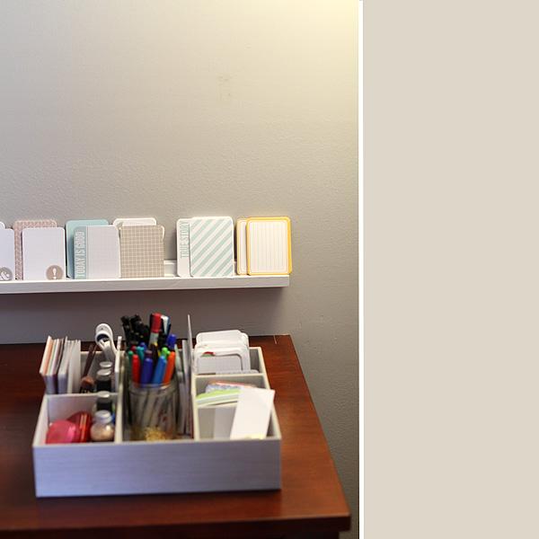 Scrapbook Shelf 3