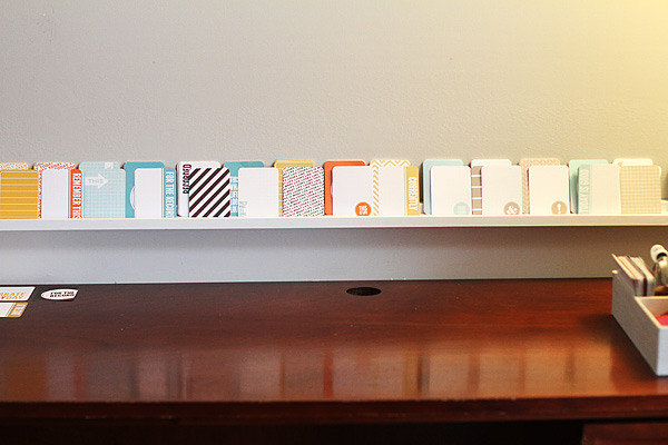 Scrapbook Shelf 4