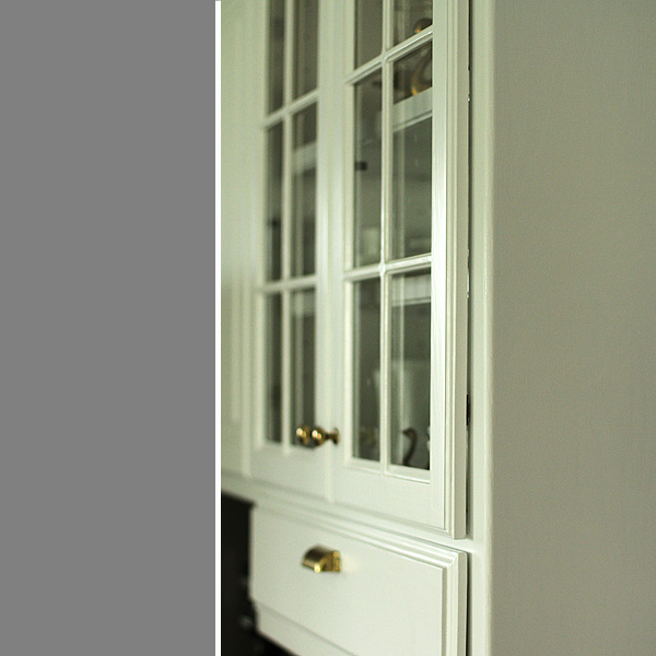 Profile View of Cabinets with Hidden Hinges 2