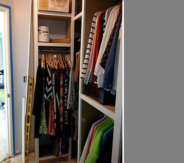 Closet Remodel 1