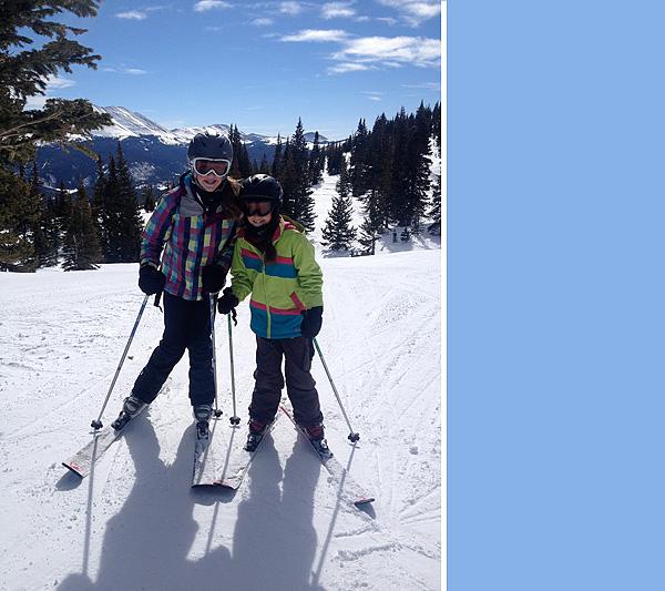 Big Sisters Skiing