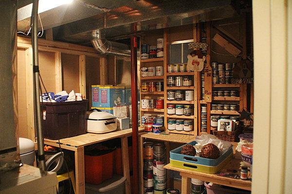 Wide Shot of the Storage Room