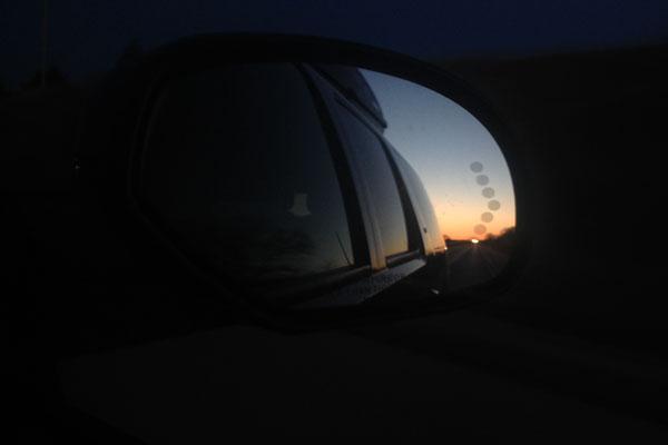 Sunrise Car Ride