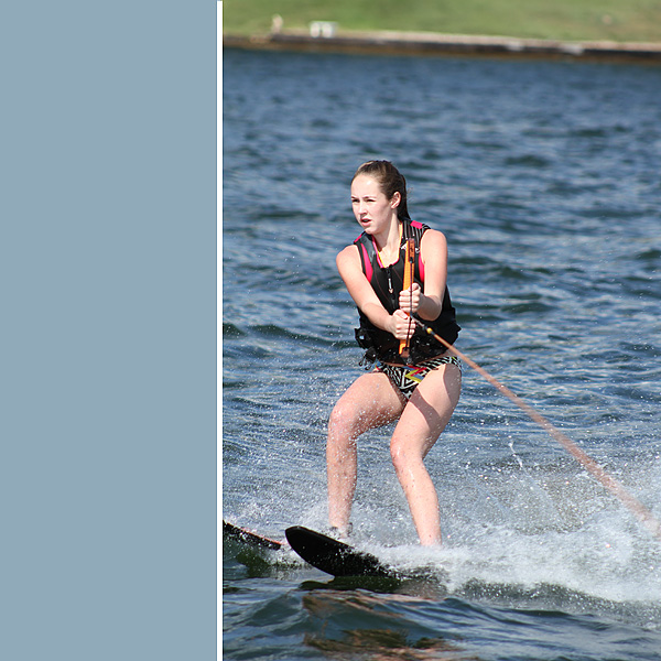 #1 water skiing