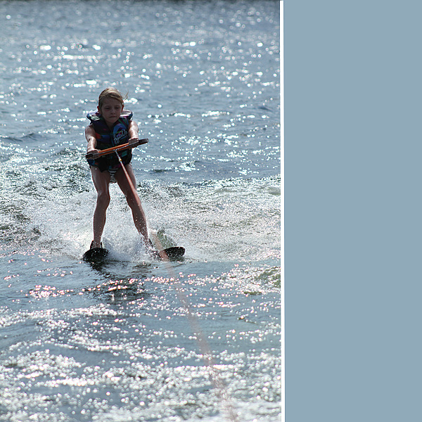 Syd water skiing