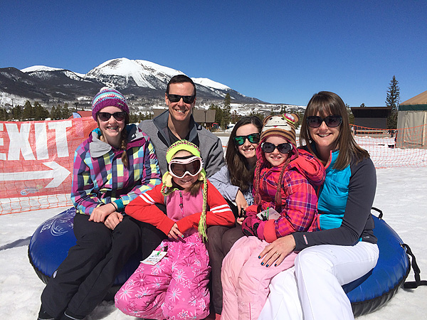 Family Tubing in Frisco