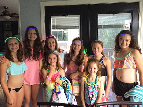 #2's birthday party