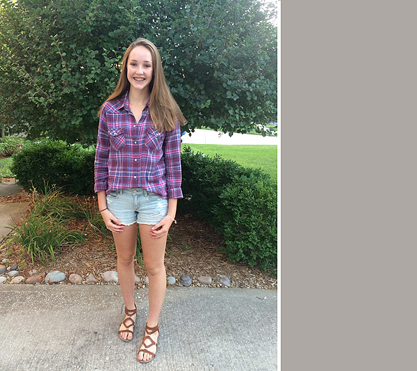 #1 first day of high school