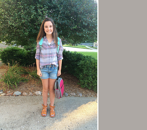 #2 first day of 7th grade