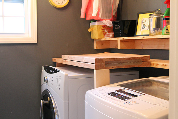 Laundry room counter