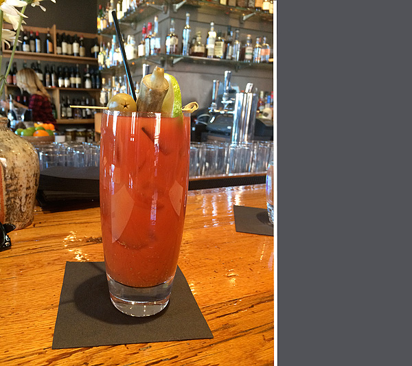 Bloody Mary at the Silo