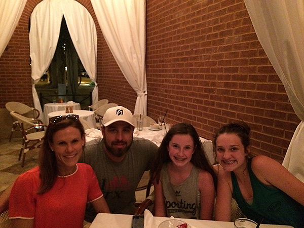 Birthday dinner in Dallas