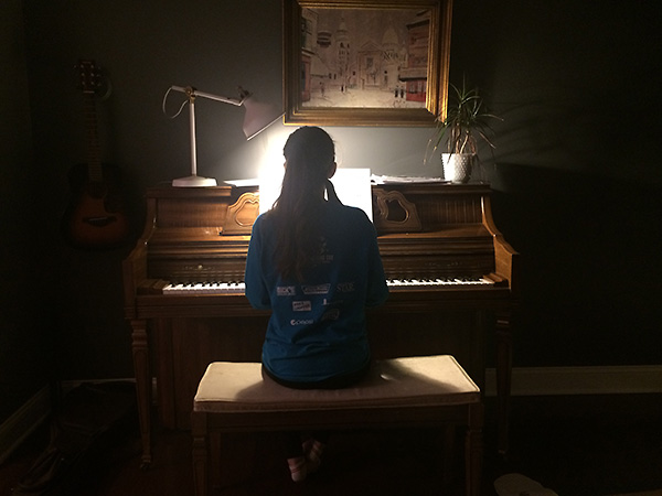 #2 practicing piano