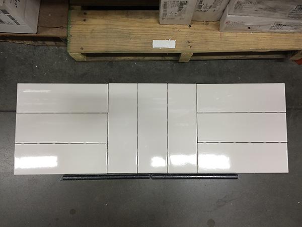 4x12 white tiles