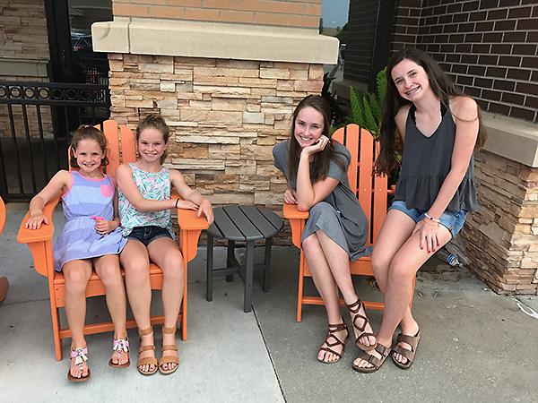 The girls at BRGR