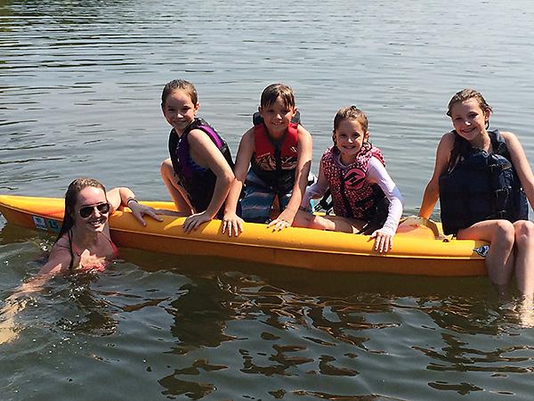 Kayaking in AR