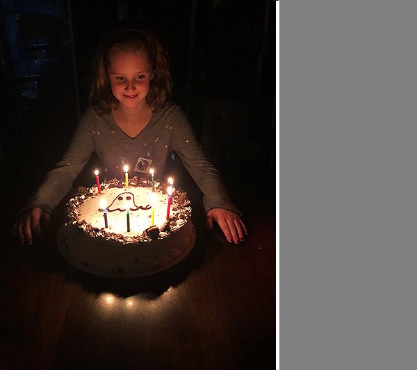 #4's Birthday party