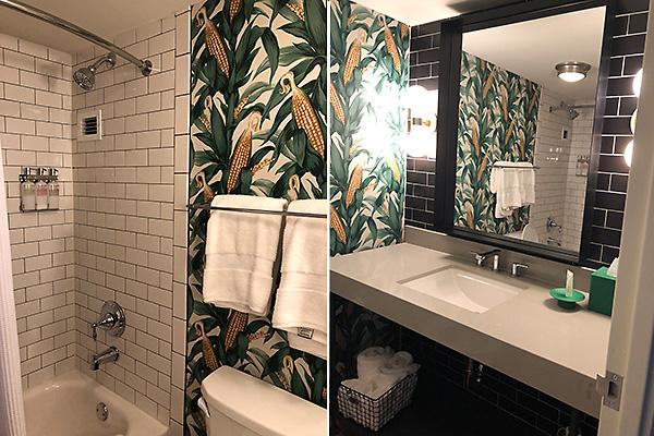 The Graduate bathroom