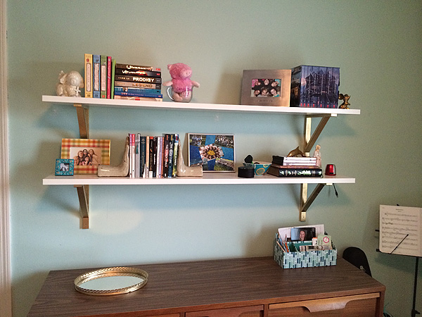 #1's Ikea bookshelves