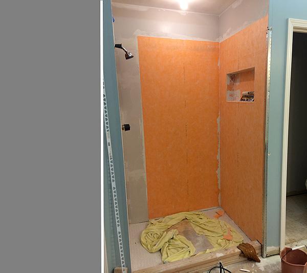 Marvelous Shower 9 Waterproofing Membrane