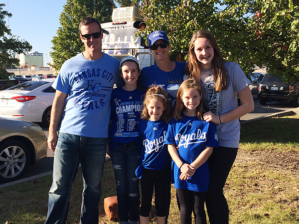 Our family at the Royals Celebration