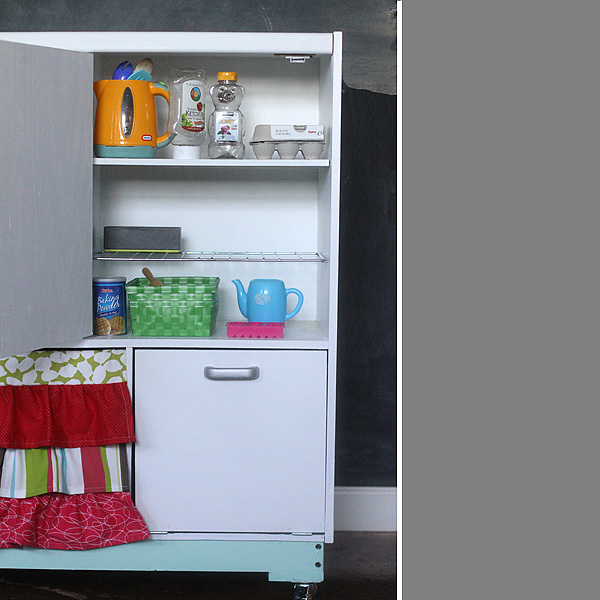 Refrigerator detail