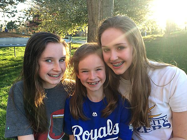 3 in braces