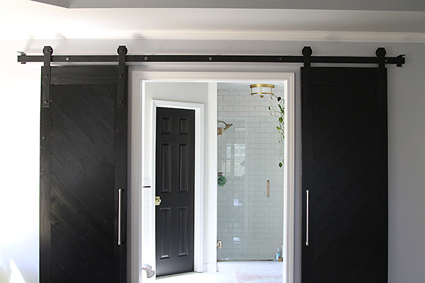 Thrifty Thursday How To Build A Barn Door Track Suzanne Mcgrath
