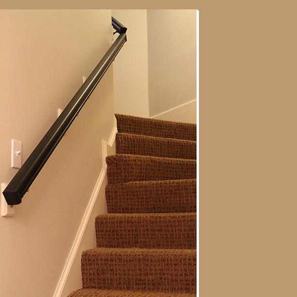 Basement Stairs Handrailing