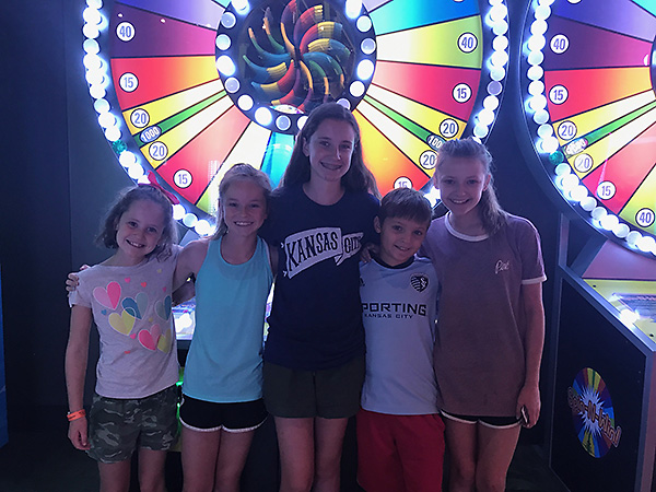 The cousins at Main Event