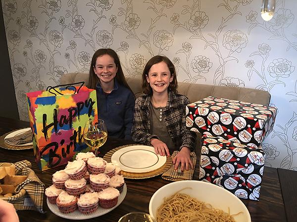 #4's birthday dinner
