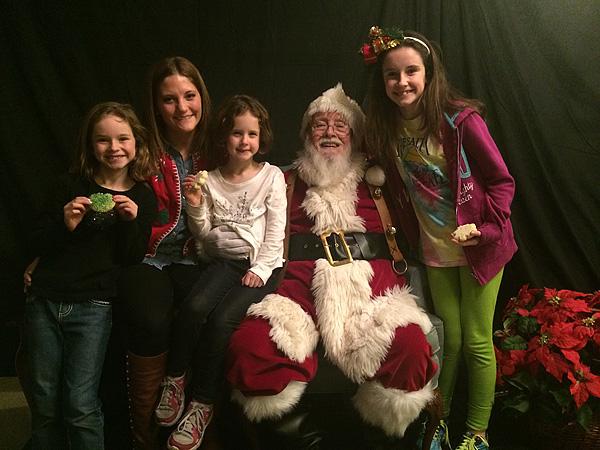 Santa on Mackey Street
