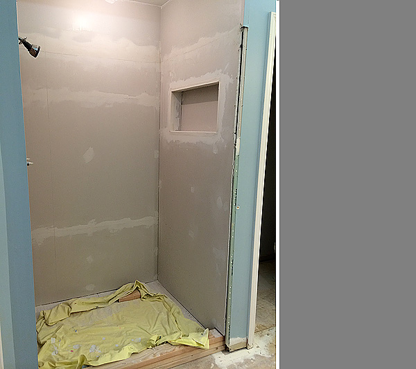 Shower 8 Dry Wall