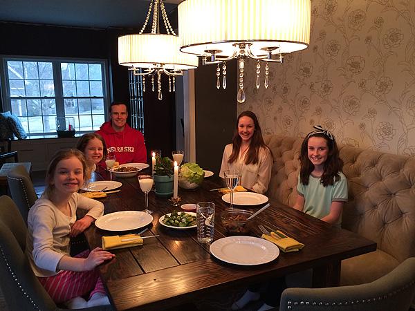 #1's Birthday Dinner